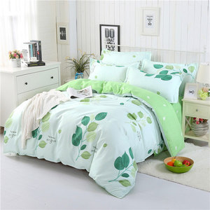 Image 2 - 4PCS Duvet Cover Set Fashion Family Bedding Sets Luxury Flat Sheet Bedding Linings Pillowcase Cover Sets, No Filler 2019 Bed Set
