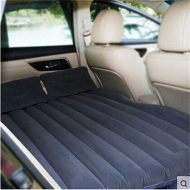Car Bed Back Seat Inflatable Air Mattress High Quality Flocking Cushion