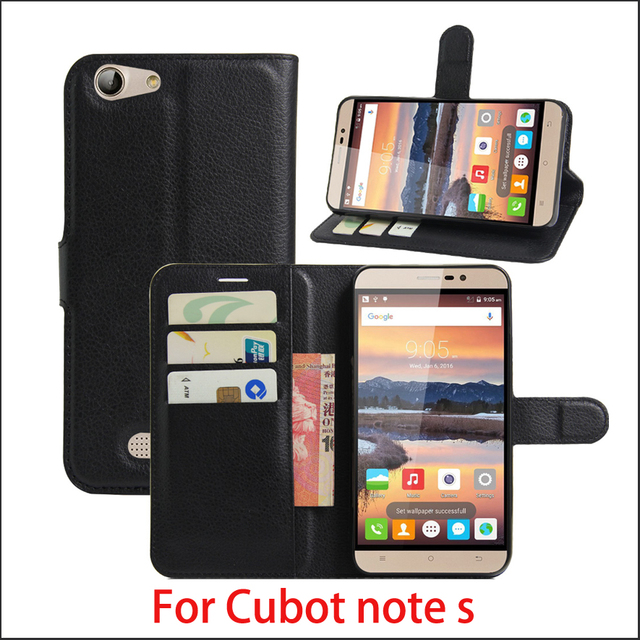 New For Cubot Note S 5.5'' Cubot Dinosaur Case Luxury Flip Leather Stand Case PU Leather Cover For Cubot Note S / Dinosaur