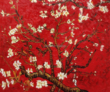 Branches of an Almond Tree by Vincent Van Gogh Handpainted