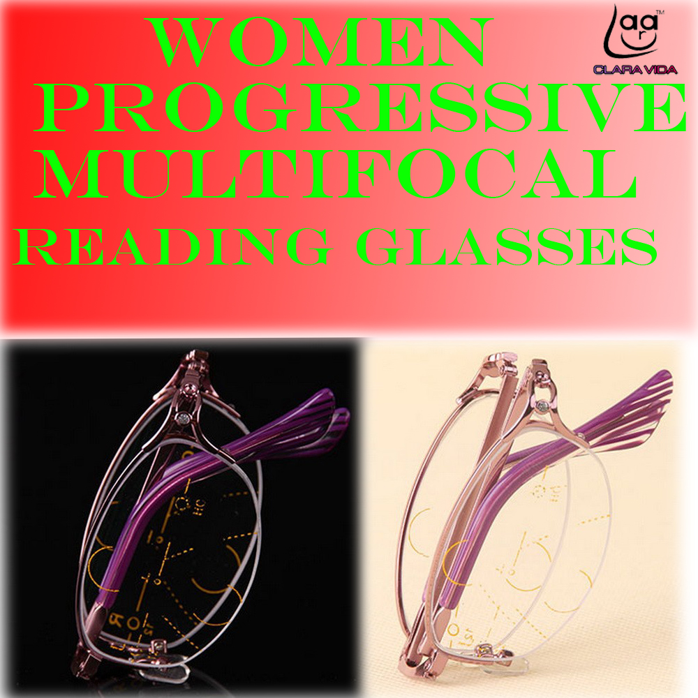 Clara Vida Intelijen Multifokal Progresif Lipat Kacamata Baca Tas Untuk Pria D 300 Bmw Merah Biru Laptop Bly 394 Bifocal Pink Womens Ultra Cahaya 1 15 2 4