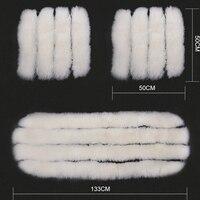 High Quality Sheepskin Luxury Fur Long Wool White Car Seat Covers Car Cushion Winter 3Pcs Set