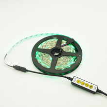 New Mini 4 Keys LED Controller DC 5V 12V 24V single color/CCT/ RGB/ RGBW/ RGB+CCT dimmer for led strip tape
