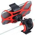 Universal da bicicleta da bicicleta da motocicleta guiador montar titular suporte do telefone de silicone com suporte band para iphone samsung xiaomi gps