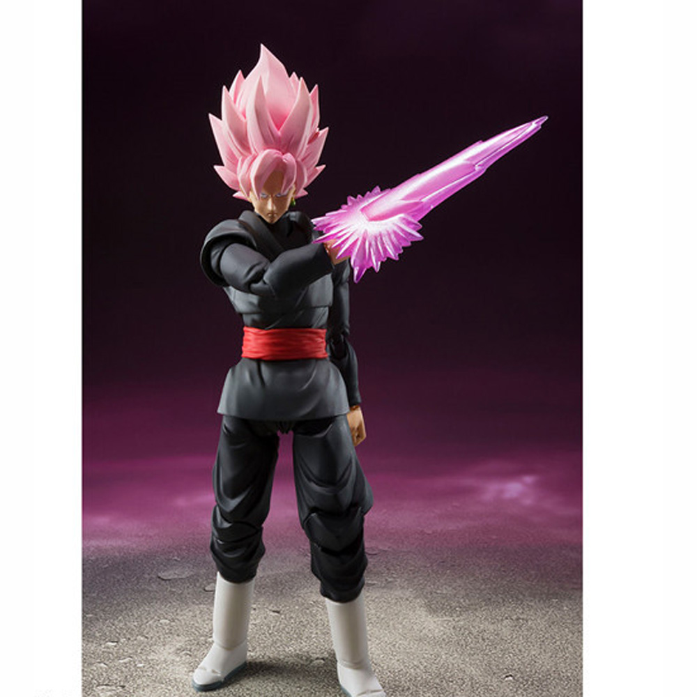 Anime DRAGON BALL Black Super GOKOU Rose Heroic S.H.Figuarts SON GOKU Figure