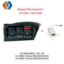 Для BMW E60 E90 Android 8,1 автомобильный мультимидийный навигатор навигацией, Wi-Fi, BT многоточечный Сенсорный экран телефона зеркало CIC Системы блок нав 5
