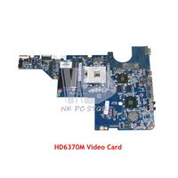 NOKOTION 631596 001 DAAX1IMB6A0 Laptop Motherboard For HP G42 G42T MAIN BOARD HM55 DDR3 HD6370M Video Card
