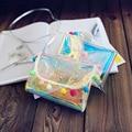 Fashion Baby girl laser PVC messenger bags Creative toddler shoulder bags purses and handbag gifts kids candy ball crossbody bag