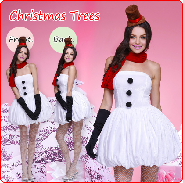 Aliexpress.com : Buy Womens Christmas Costume Fancy Dress Santas ...