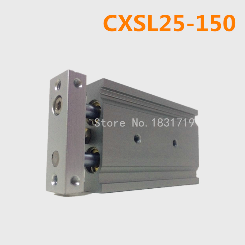 CXSL25-150 Duplex double bar cylinder ball bearings Pneumatic components CXSL25X150CXSL25-150 Duplex double bar cylinder ball bearings Pneumatic components CXSL25X150