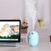 Adoolla Three-in-one Multifunction Mini Air Humidifier Essential Oil Diffuser with USB LED Light