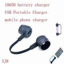 4,2 V Li Ion 18650 batterie ladegerät, USB Tragbare Ladegerät für smart telefon Kleine Power Bank (Keine Batterie)