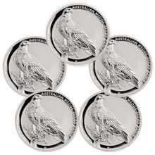 Free Shipping 100pcs/lot,2016 P Australia Wedge Tailed Eagle 1 oz Silver Coin