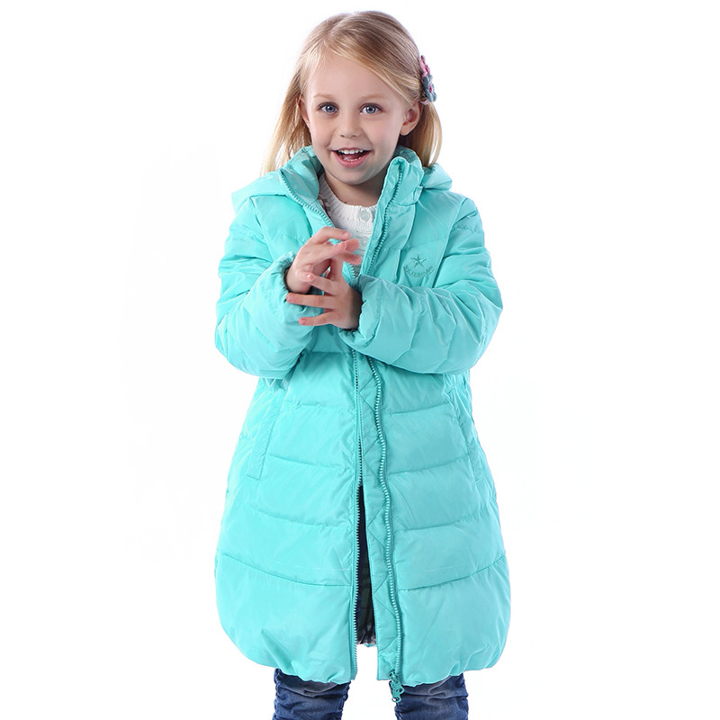 Girl's winter jacket down Jackets Coats 2017 NEW warm Kids baby thick duck Down jacket Children Outerwears cold winter-30degree fashion boys down jackets coats for winter warm 2017 baby boy thick duck down coat real fur children outerwears for cold winter