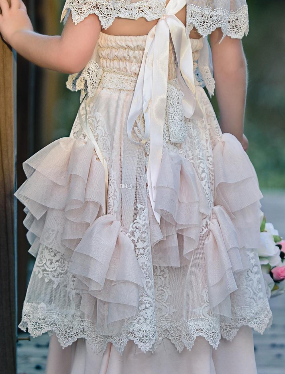Kleine blume mädchen kleider für hochzeiten baby parteikittel sexy ...