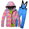 Men Women Snowboarding Clothes Winter Outdoor Sports Ski Suit Sets Waterproof Thick 30 Warm Costume Jackets