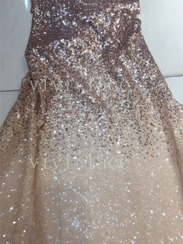 2018  new 5yards/bag pp002 best quality  sequin embroidery tulle mesh lace for sawing bridal wedding dress