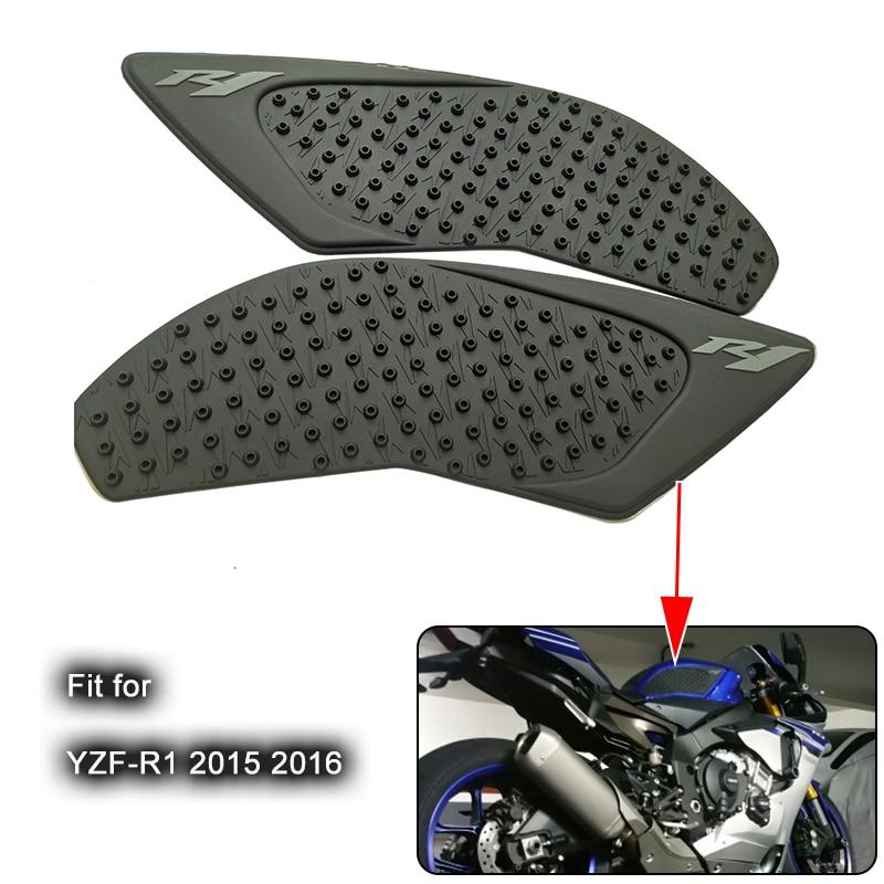 Motorcycle 1 Pair Anti Slip Tank Knee Side Pad Sticker For Yamaha R1 2004-2006