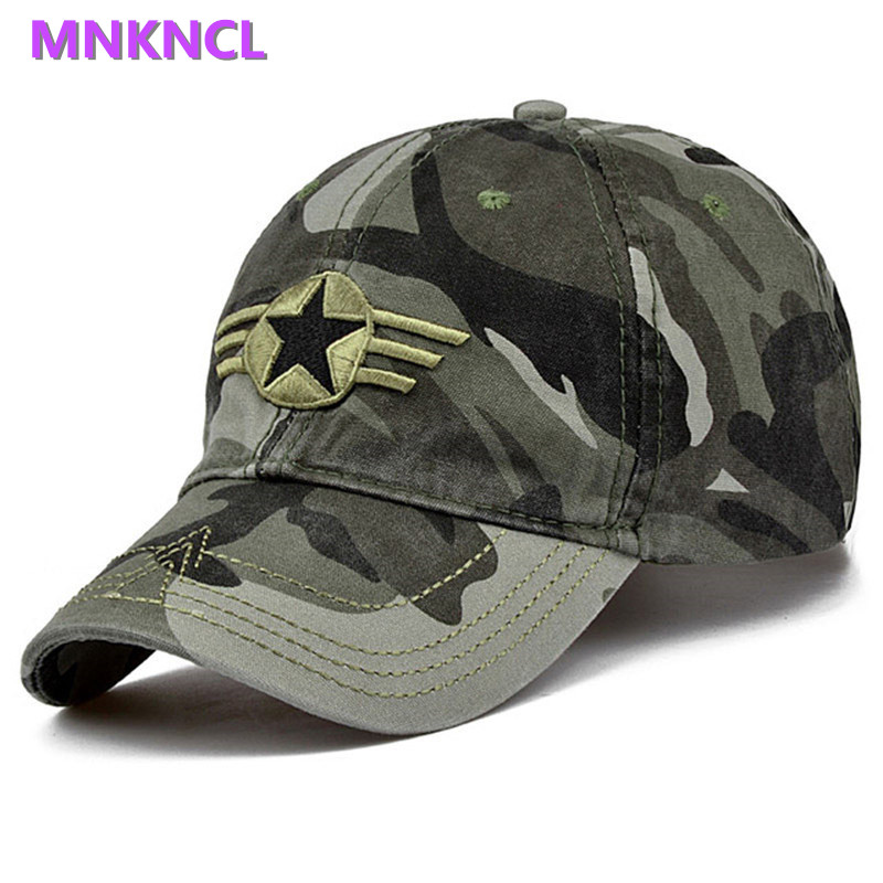 Newest Men Pentagram Baseball Cap Top Quality Army Camo Caps Hunting Fishing Hat Adjustable  Camo Snapback Hats pca 6144s rev b 486 industrial motherboard with cpu memory pca 6144 100% test good quality