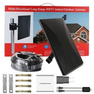 Image 2 - Satxtrem هوائي تلفاز خارجي TDT DVB T2 HDTV التلفزيون الرقمي هوائي داخلي DVBT2 مضخم الهوائي إشارة الداعم HD DVB T2 VHF/UHF