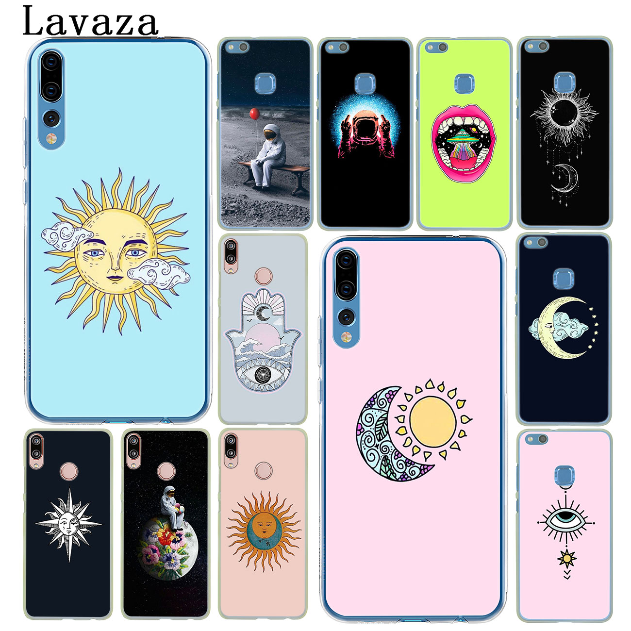 Disciplined Lavaza Sun And Moon Wiccan Hard Phone Case For Huawei P20 P9 P10 Plus P8 Mate 20 Pro 10 Lite Mini 2016 2017 P Smart 2019 Cover Cellphones & Telecommunications