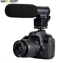 микрофон для Профессиональной интервью     конденсаторный микрофон для конференции для DSLR зеркальные фотокамеры видеокамера для DC DV