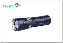 Trustfire DF011 XP-LV6 Led Flashlight Diving Underwater Aluminum Waterproof lantern Light Torch By 1x 26650 Rechargeable Battery