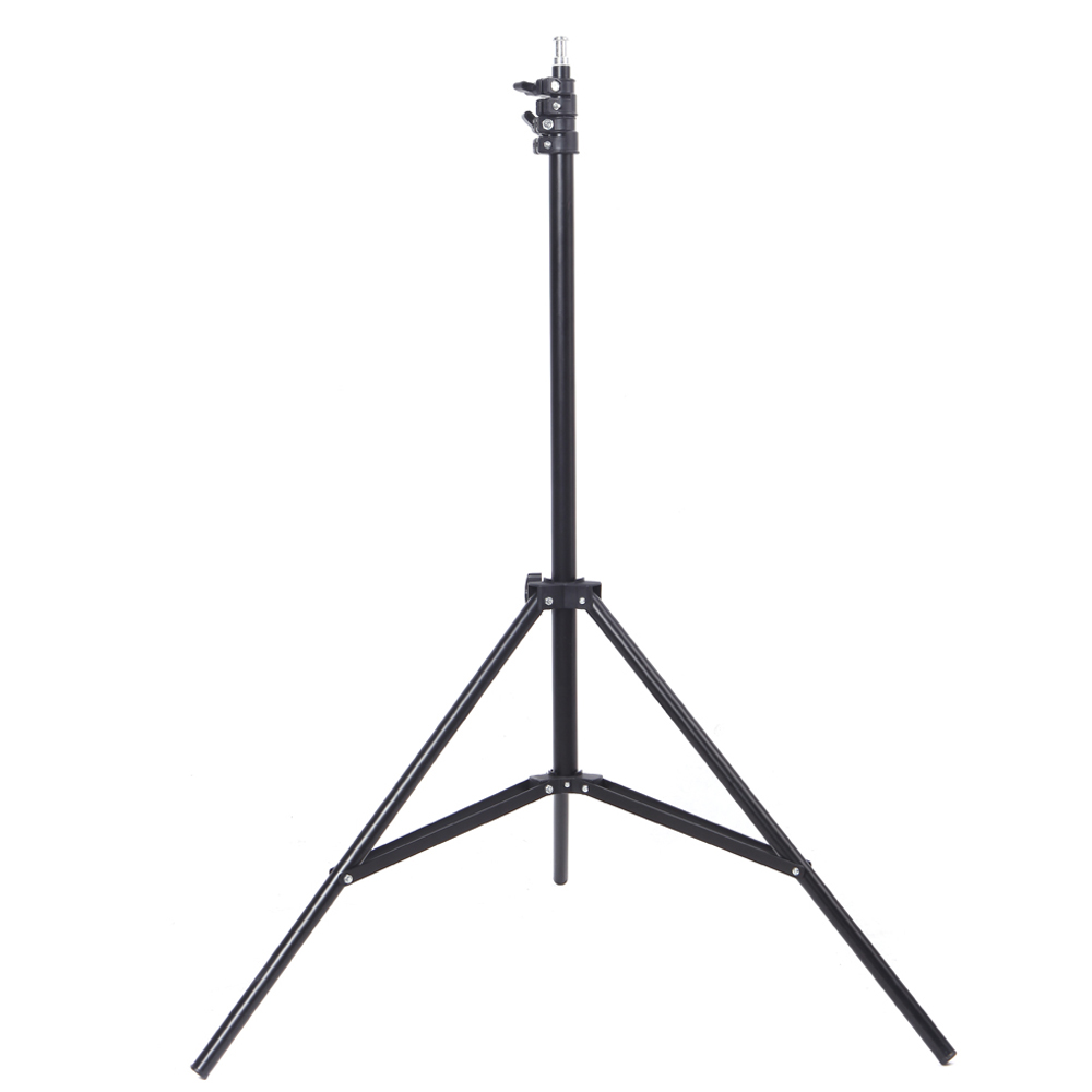 RU Stock 2m / 6.56ft Light Stand Aluminum alloy Photography Studio Stand for Light Camera Photo Studio Soft Box
