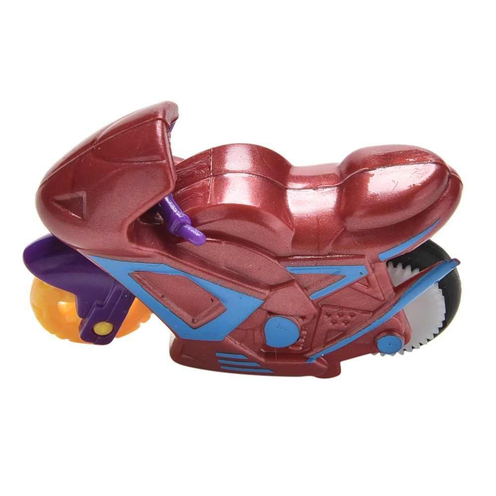 Pizies Hot Selling 1Pcs  Kids Toy Inertia Motorcycle Vehicle Toys Gifts Children Kids Motor Bike Model Toy
