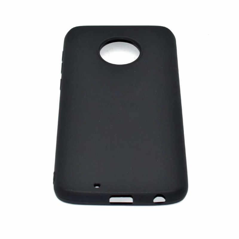สำหรับ Motorola Moto G6 พลัสเคส Moto G6 พลัสเคสทีพียูกลับปกคลุมกรณีโทรศัพท์สำหรับ Motorola Moto G6 พลัส G6Plus เคสซิลิโคน