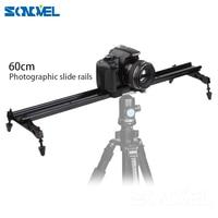 Studio 24 60cm/31 80cm DSLR DV Camera Track Dolly Slider Video Stabilizer System For Canon Nikon Pentax Panasonic Fuji Sony