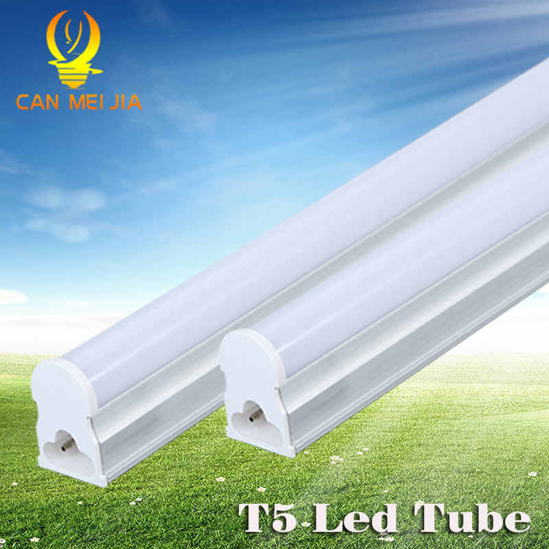 Led Tube T5 Integrated 300mm 600mm 900mm 1200mm 1ft 2ft 3ft 4ft T5 Led Tube Light Lamp Fixtures 5W 10W 9W 220V Wall Lamps Home