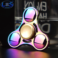 New Colorful Fidget Toy Hand Spinner Rotation Time Long For Autism And ADHD Kids Adult Funny