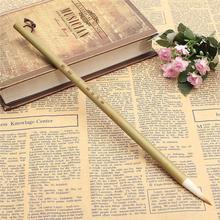 Горячая Распродажа, шерстяные и ласки для волос, маленькие обычные кисточки для письма, кисти для китайской каллиграфии, инструмент для художественной школы