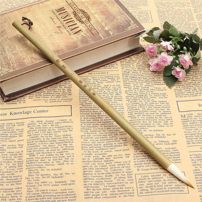 Hot Sale Woolen And Weasel Hair Small Regular Script Writing Brushes Chinese Calligraphy Brushes Pen Art School Tool