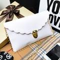 Ladies Handbag Long Chain Female Bag Lmitation Leather Shoulder Bag Fashion Wallet Metal Chain Lady Handbag 14 Colors Wholesale