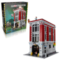 Lepin 16001 Firehouse Headquarters building bricks blocks Toys for children boys Game Model Car Gift Compatible with Bela 75827