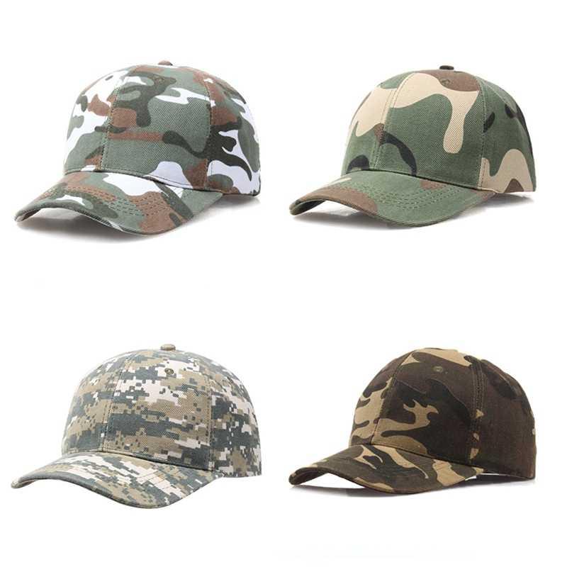 قابل للتعديل متعددة حدبة العسكرية التمويه القبعات للرجال الادسنس Snapback التكتيكية البيسبول قبعات الألوان القتالية الجيش القبعات