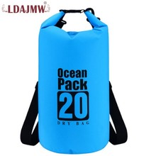 hot deal buy high quality waterproof pvc surfing travel large capacity storage bag ultra light portable multi-function travel backpack