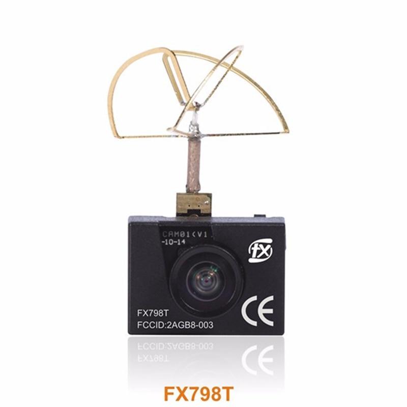 High Quality FX FX798T 5.8G 25mW 40CH Mini Transmitter Camera Combo For FPV Multicopter RC Quadcopter Part skyzone fpv ts5813s 5 8g 25mw 40ch mini av wireless transmitter for mini multicopter qav250