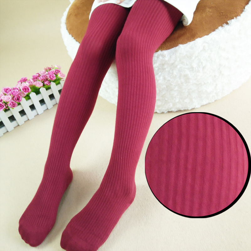 Buy Mamimore Winter Cotton Baby Girls Pantyhose Autumn Baby Stockings Tights Mini Dressing Vertical Stripes Kids Tights Girls