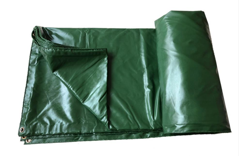 Customize 400g/sqm 1.5x2 Green Outdoor Waterproof Canvas, Rain Tarpaulin, Truck Tarpaulin. Tent Sunshade Material.