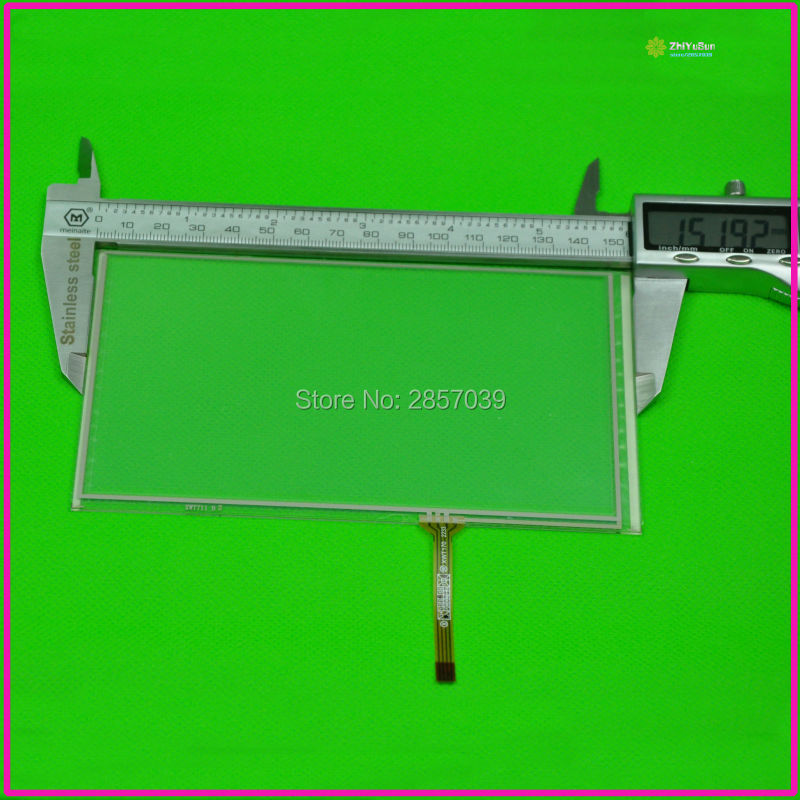 NEW XWT711 6.2inch 4 lins Touch Screen For GPS CAR 152mm*86mm touchsensor 152*86 touchglass digitizer
