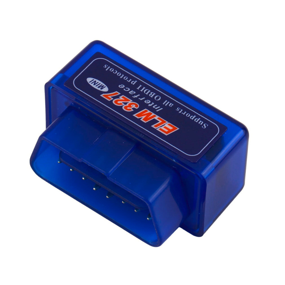 New style Blue Portable Mini ELM327 V2.1 Bluetooth OBD2 Scanner Diagnostic tool Car Auto Interface Scanner ABS Plastic Tool
