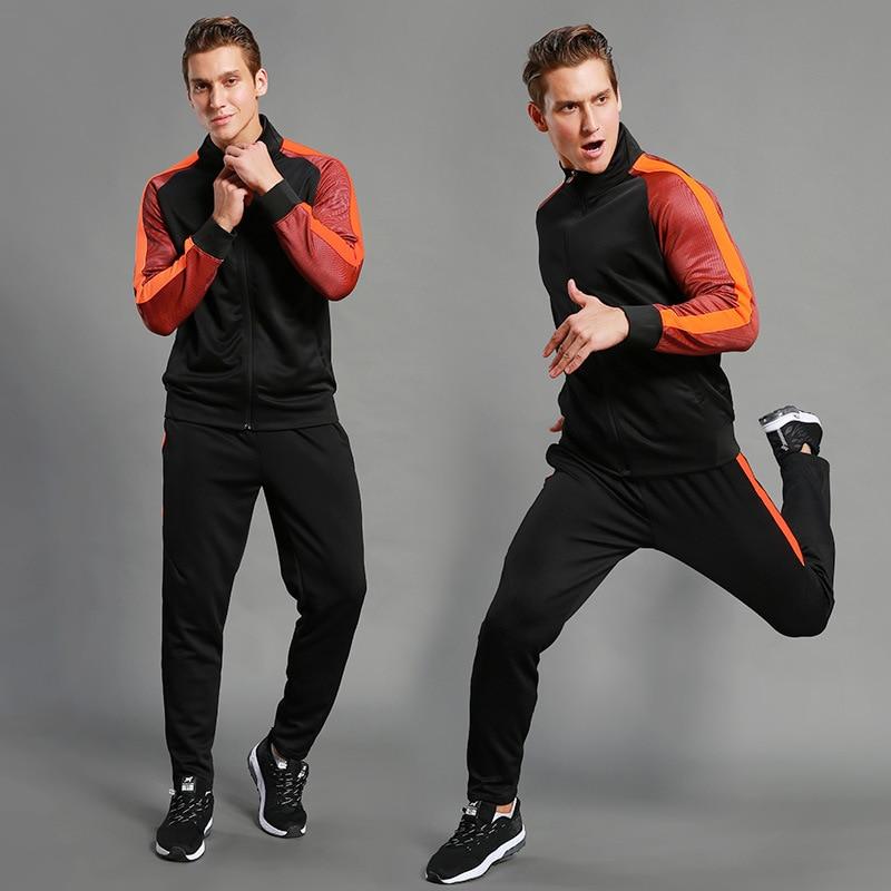 Men Survetement Tracksuits Kids Soccer Kits Football Shirts Gym Tops Bottom Custom Training Uniform Sets Maillot De Foot 2017 18