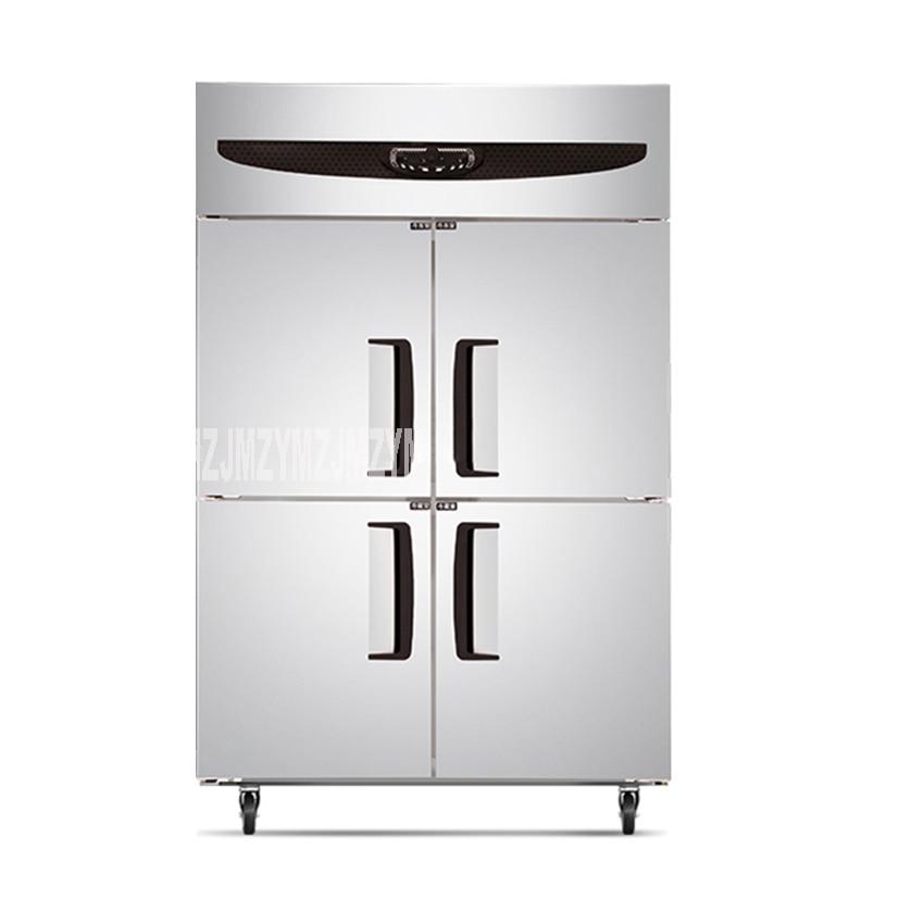 Großgeräte Kühlschränke Und Gefriergeräte Kommerziellen Küche Ausrüstung 4 Türen Aufrecht Gefriergeräte Kühlschränke Zwei Temperatur Palette Edelstahl Gt1.0l4sts F 220 V 420 W Nachfrage üBer Dem Angebot