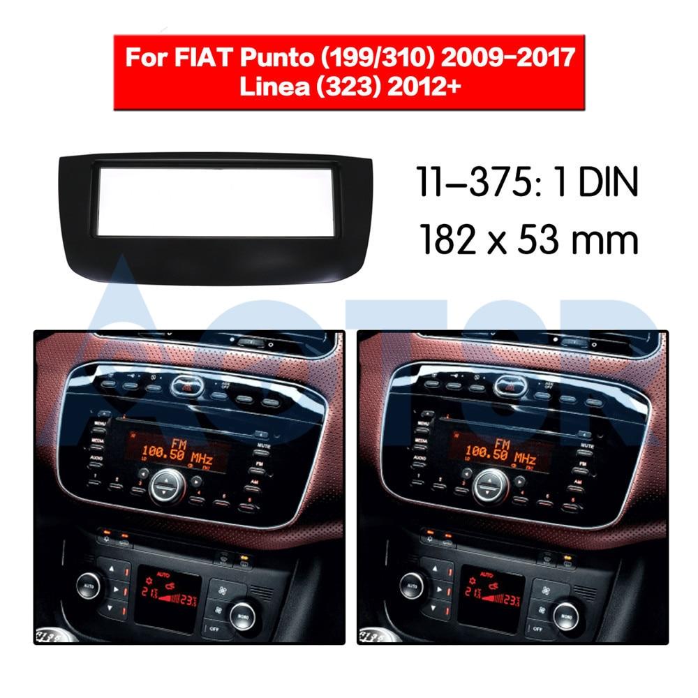 CT24FT04 Fiat Punto 1999-2005 Car Stereo Radio Fascia Black /& Aerial Fitting Kit