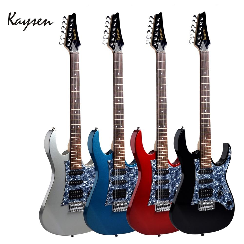 Kaysen haute qualité 6 cordes guitare basse électrique lourd Instrument à cordes KEG3