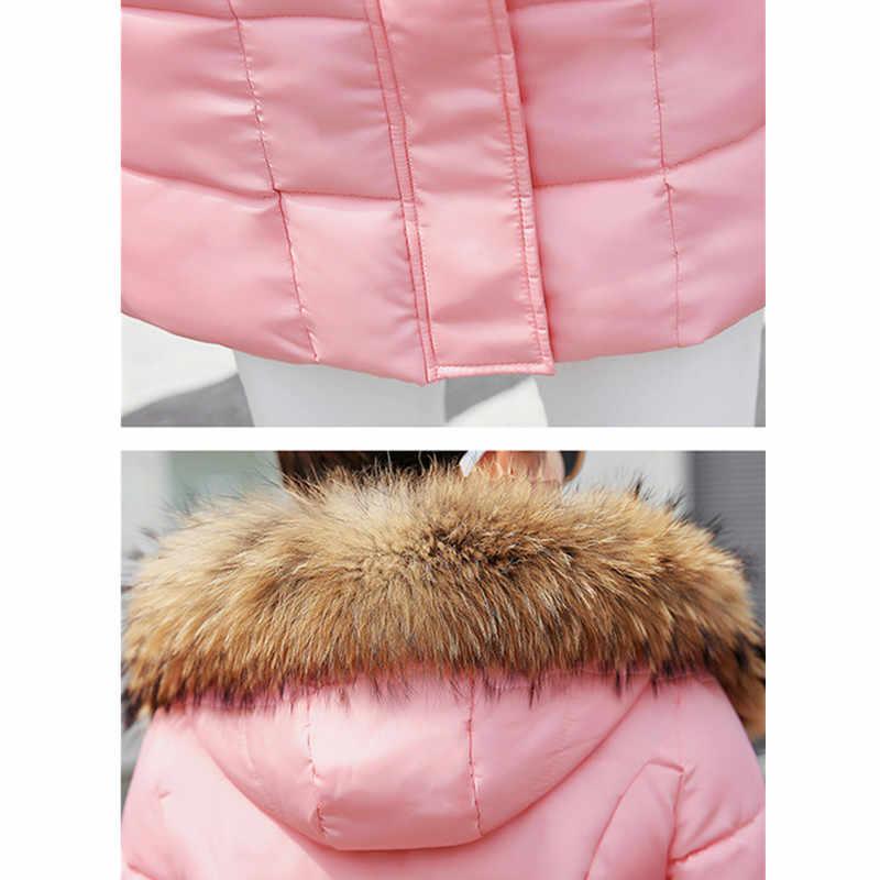 เสื้อฤดูหนาวผู้หญิงผ้าฝ้าย outerwear Parka 2020 PLUS ขนาด Women's Park เสื้อปานกลางยาวป่า Slim ผ้าฝ้ายอุ่นแจ็คเก็ตหญิง
