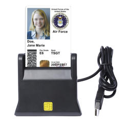 ZW-12026-3 EMV смарт-карта USB считыватель писатель DOD военный USB общий доступ CAC смарт-кардридер ISO7816 для SIM/ATM/IC/ID карты